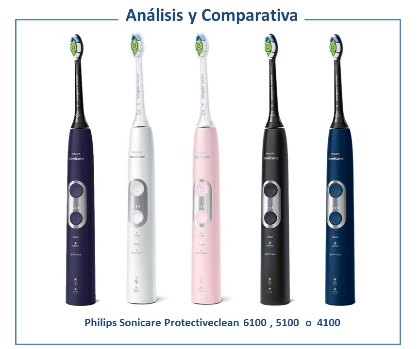 Philips Sonicare Protectiveclean 6100 vs 5100 vs 4100