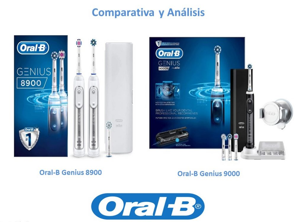 Oral B Genius 8900 duo vs 9000
