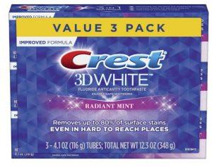 pasta de dientes blanqueante