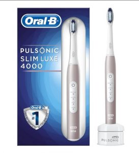 oral b pulsonic slim luxe 4000 vs 4100