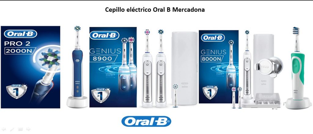 cepillo electrico oral b mercadona precio