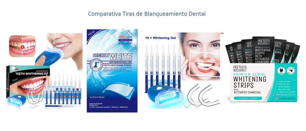 Tiras de blanqueamiento dental