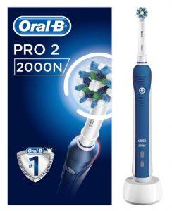Oral B pro 2 2000s vs 2000n