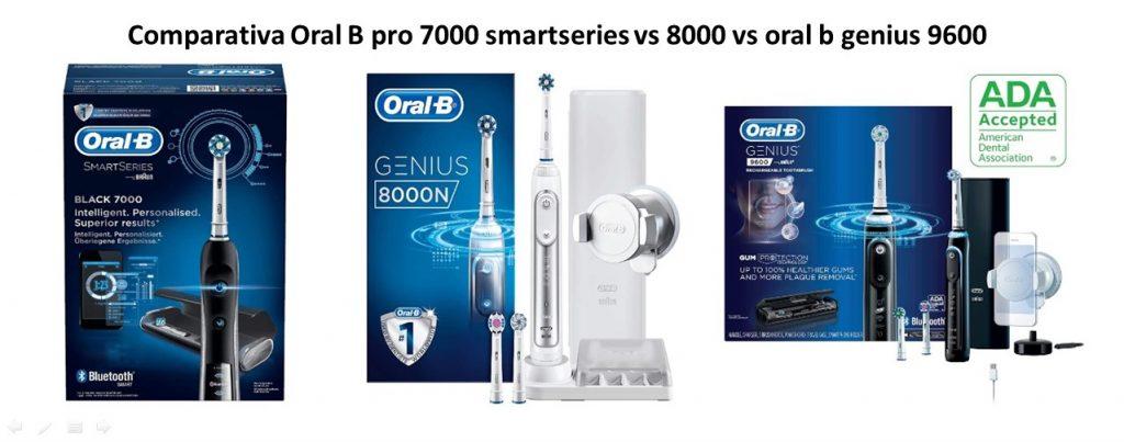 Oral-b pro 7000 smartseries vs 8000 vs oral b genius 9600