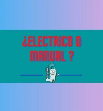 cepillo electrico manual
