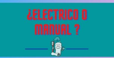 cepillo electrico manual