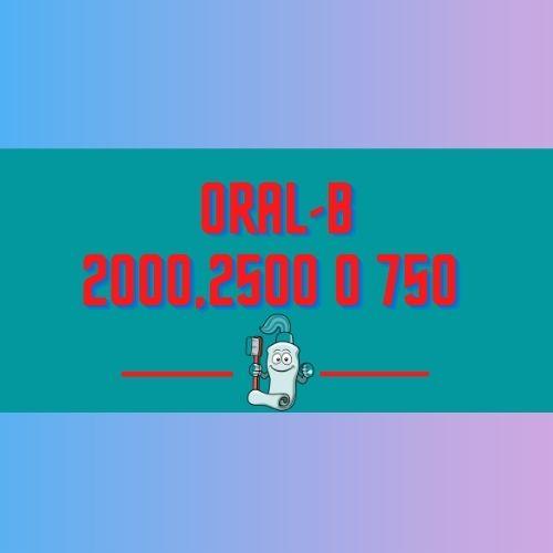 oral b pro 2000 vs 2500