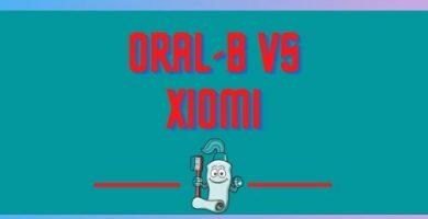Cepillo de dientes Xiaomi vs Oral B